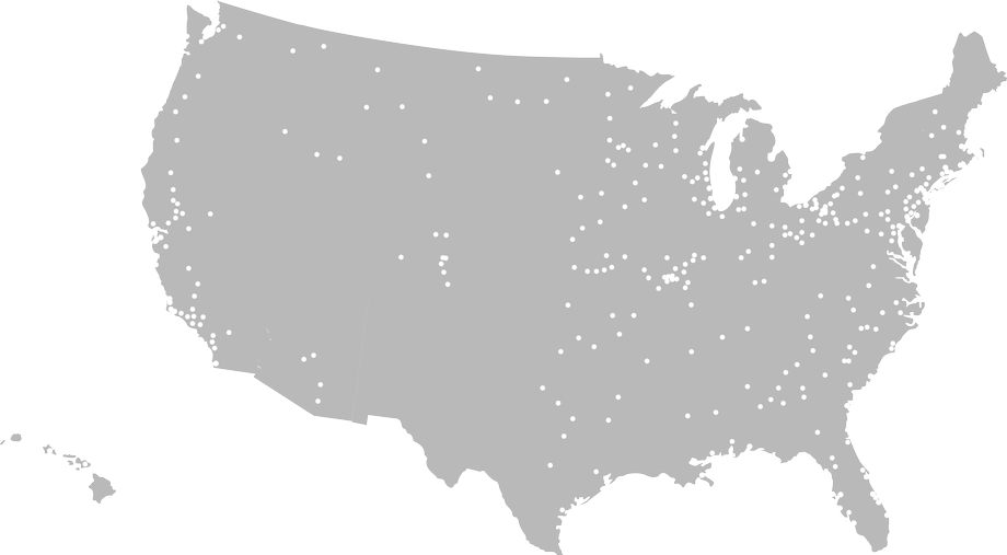 Stifel Financial Services Map of Offices in U.S., Financial Advisors